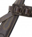 Walker & Williams C-34 Cognac Brown Premium Handmade Double Padded Leather Strap
