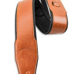 Walker & Williams G-01 Chestnut Brown Strap with Padded Glovesoft Back