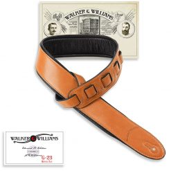 Walker & Williams G-23 Honey Tan Strap with Padded Glovesoft Back