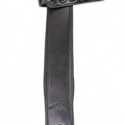 Walker & Williams G-26 Semi-Gloss Black Bullnose Padded Strap with Glovesoft Back
