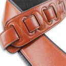 Walker & Williams G-28 Chestnut Brown Strap with Padded Glovesoft Back