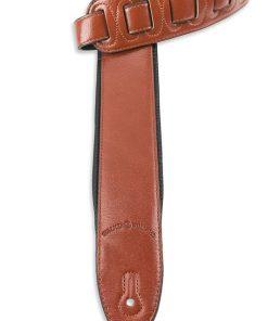 Walker & Williams G-28 Chestnut Brown Strap with Padded Glovesoft Back