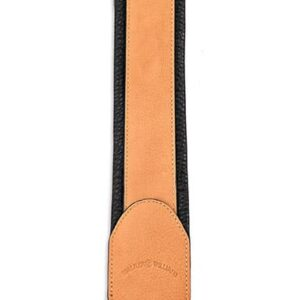 Walker & Williams G-42 Buckskin Tan Padded Strap with Glovesoft Back