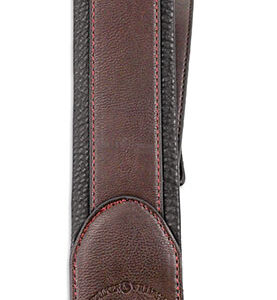 Walker & Williams G-43 Cognac Brown Padded Strap with Glovesoft Back