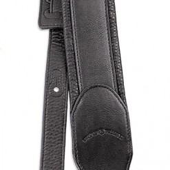 Walker & Williams G-46 Black on Black Padded Strap with Glovesoft Back