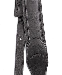 Walker & Williams G-46 Black on Black Padded Strap with Glovesoft Back
