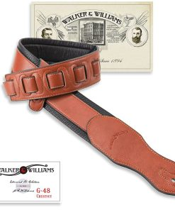 Walker & Williams G-48 Chestnut Brown Strap with Padded Glovesoft Back