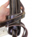 Walker & Williams C-19 Rockabilly Strap Soft Brown Leather Extra Long
