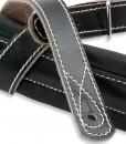Walker & Williams C-27 Double Padded Vintage Rockabilly Leather Strap