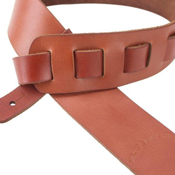Walker & Williams SL-114 Chestnut Full Grain Soft Italian Leather Strap