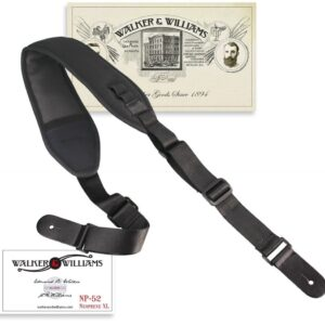Walker & Williams NP-52 XL Neoprene Strap Bass or Guitar Extra Long Up To 60""
