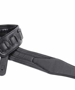 Walker & Williams G-513 Black Multi Layer Strap with Padded Glovesoft Back