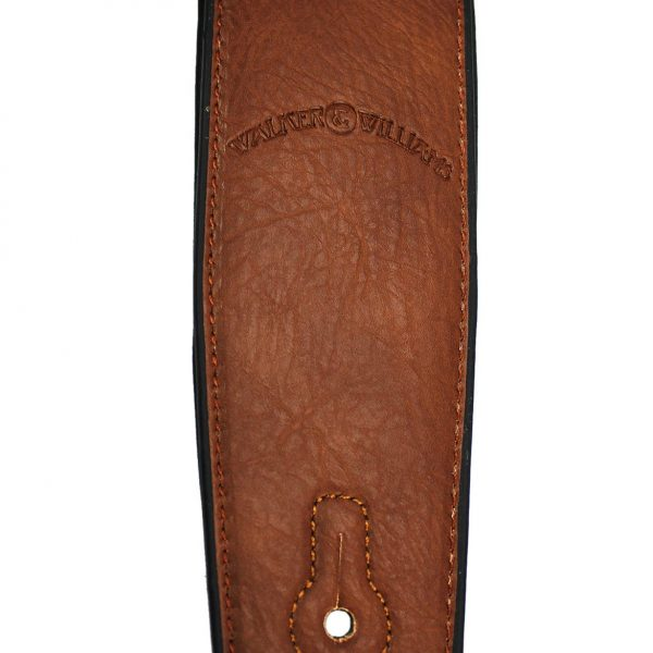 Walker & Williams G-54 Chestnut Brown Squarenose Strap Padded Glovesoft Back