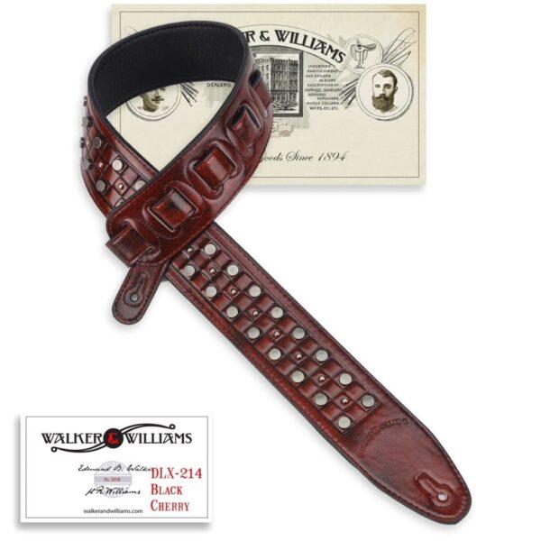 Walker & Williams DLX-214 Black Cherry